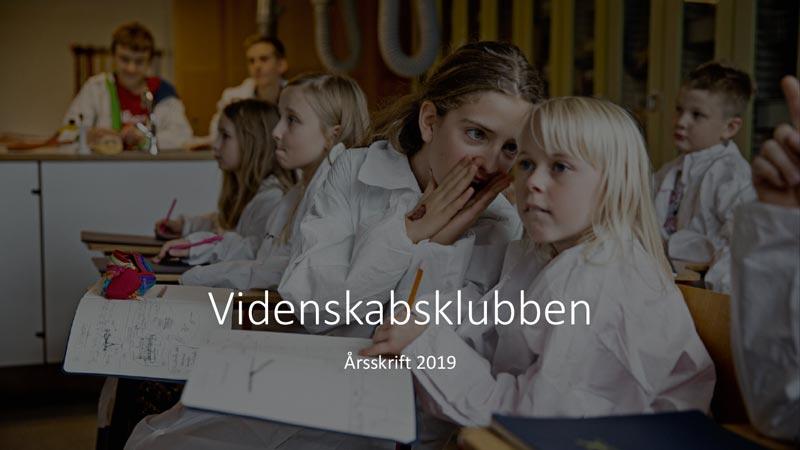 Videnskabsklubben årsskrift 2019