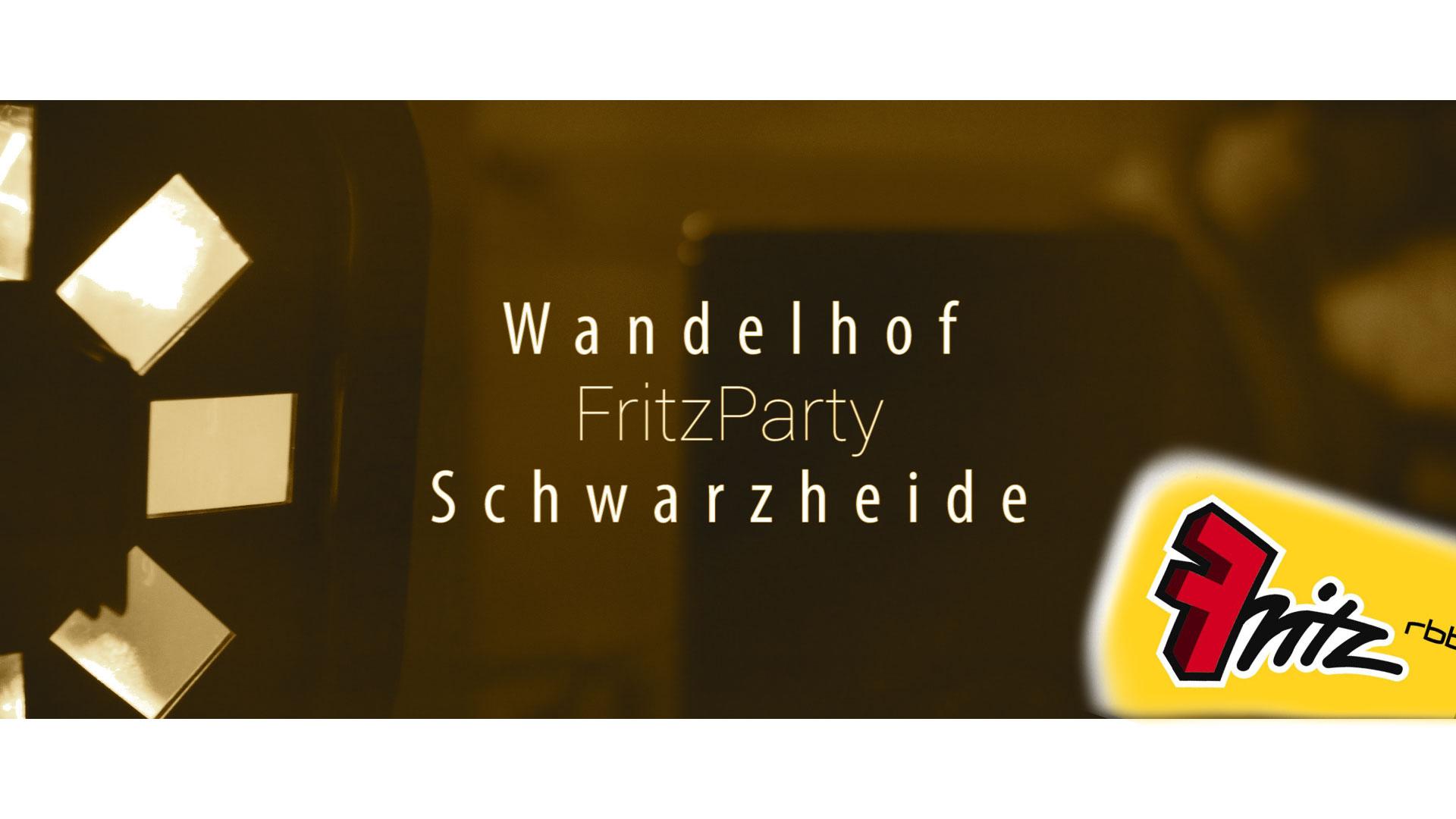FritzParty Wandelhof Schwarzheide 2018