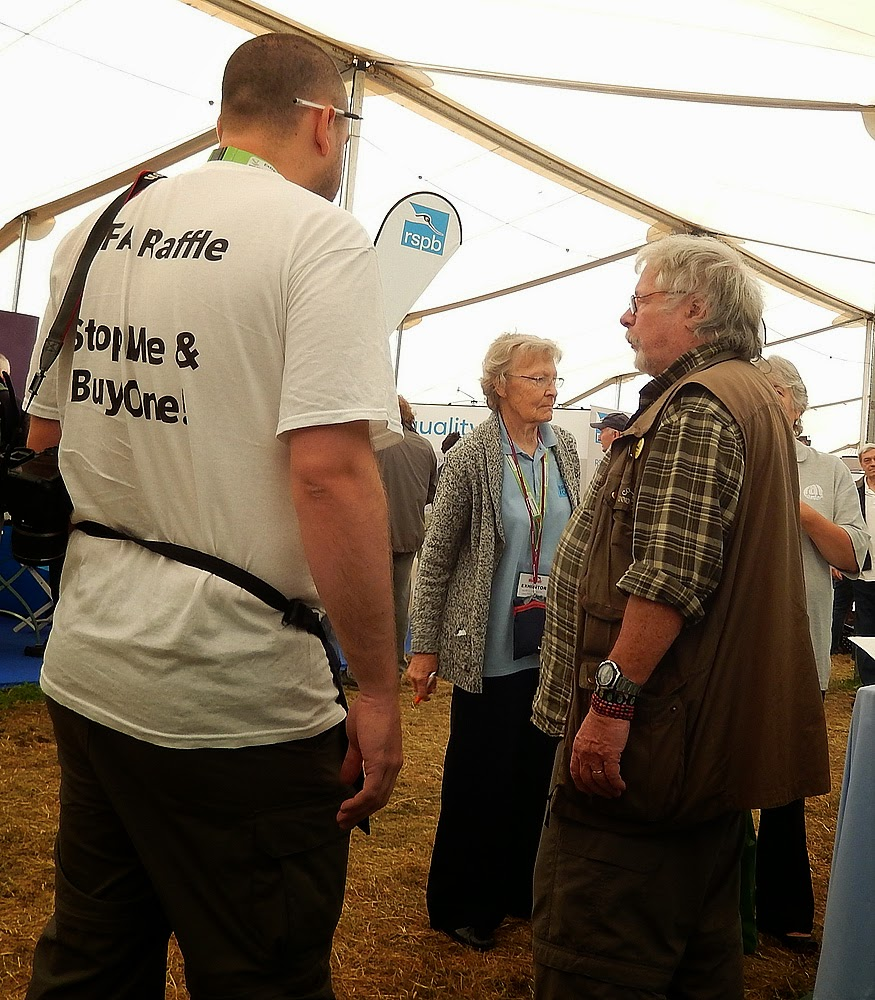 Me talking to Bill Oddie about his work in Malta earlier this year