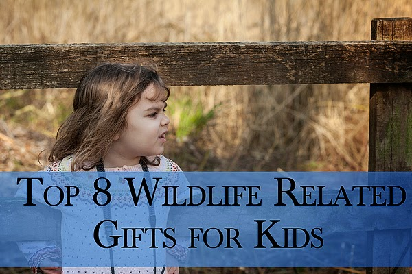 Top 8 Wildlife related gifts for kids