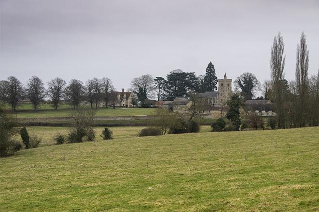 Calverton Church, viewable from the Boundary walk