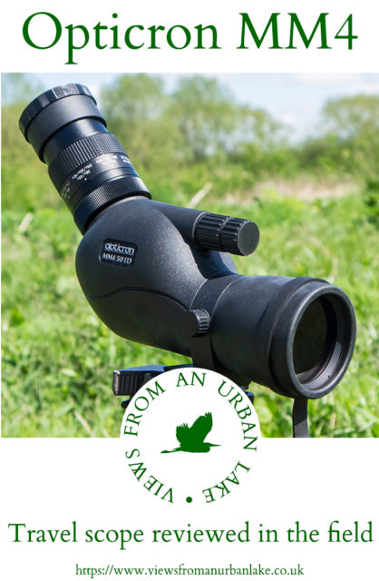 Opticron MM4 travel scope reviewed in real world conditions by experienced bird watcher (with a bad back) putting this telescope to the test