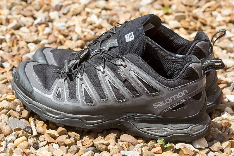 Gore-tex hiking shoes like these Salomon X Ultra 2 GTX