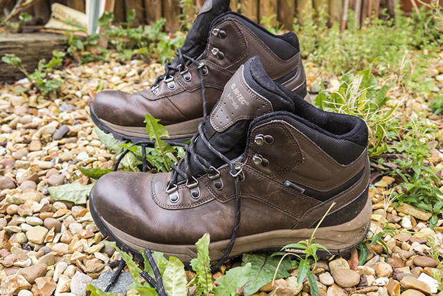High Leather boots like the Hi-Tec Altitude