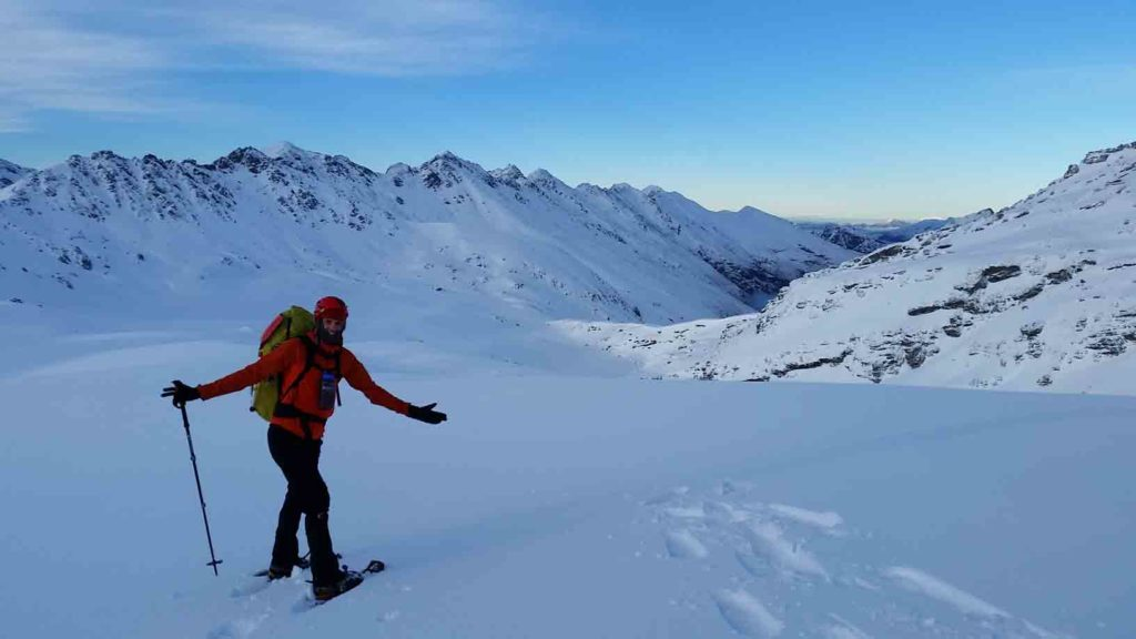 Outdoors Wellness With Patrick Timm (Patrick Timm on a Snowy Mountain)