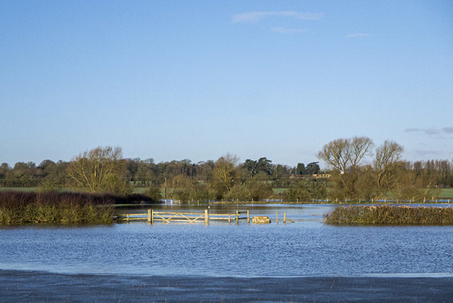Floods over the Fields