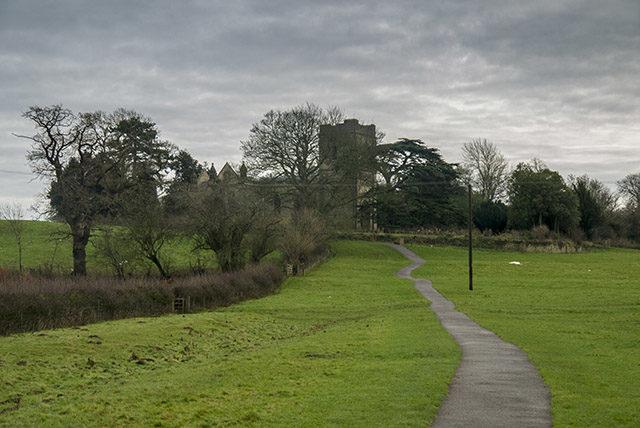 Cardiac Hill, the path to Holy Trinity Church
