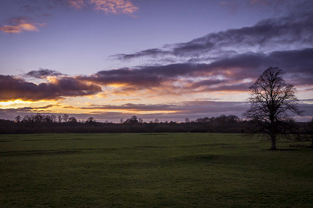 The second of my favourite sunset images - Sunset in the Ouse Valley, Milton Keynes