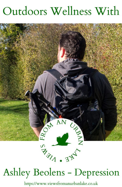 Outdoors Wellness with Ashley Beolens - a look at one man's battle with depression through the time spent outside in nature.