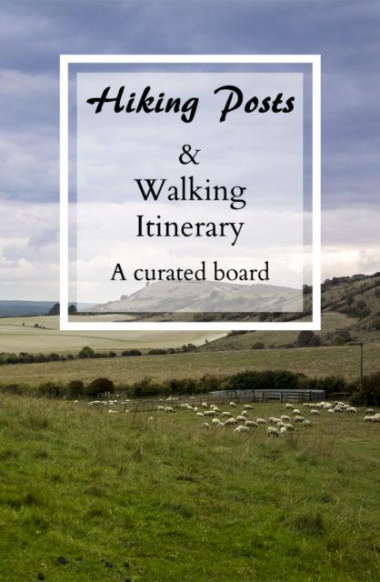 Hiking Posts & Walking Itinerary