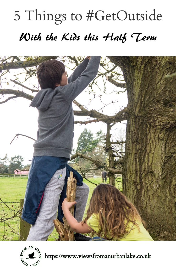 5 Things to #GetOutside with the kids this half term