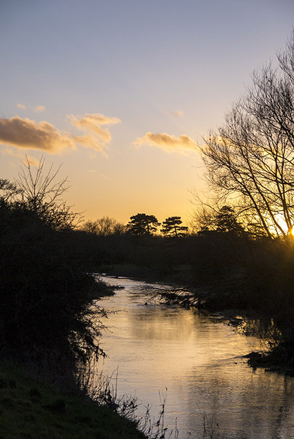 Golden light on the River Ouse