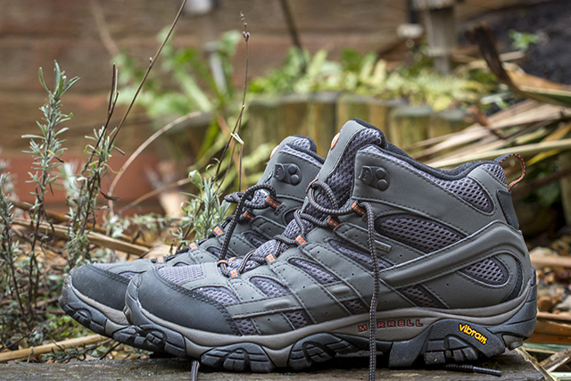 How to Choose Hiking Boots - Merrell, fabric walking boots