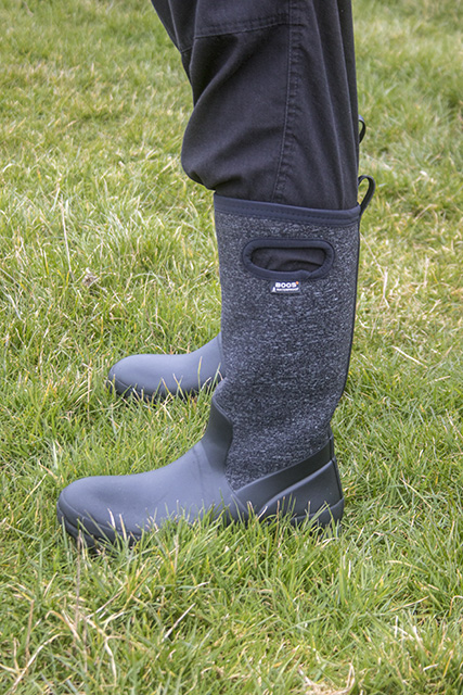 Candall Tall Boots on Zoe