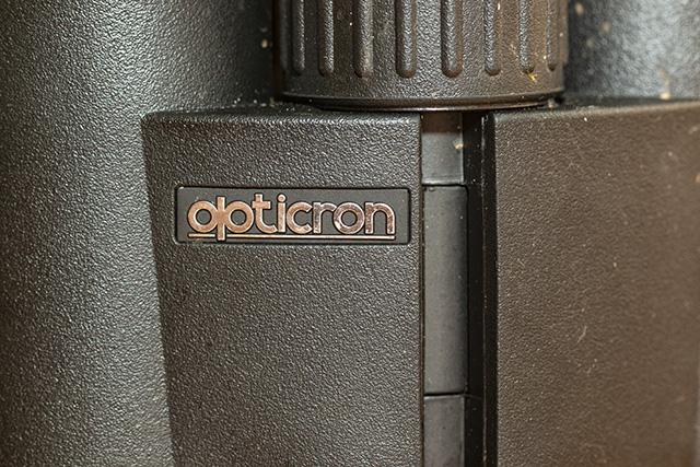 Opticron Logo on BGA HD+ Bins