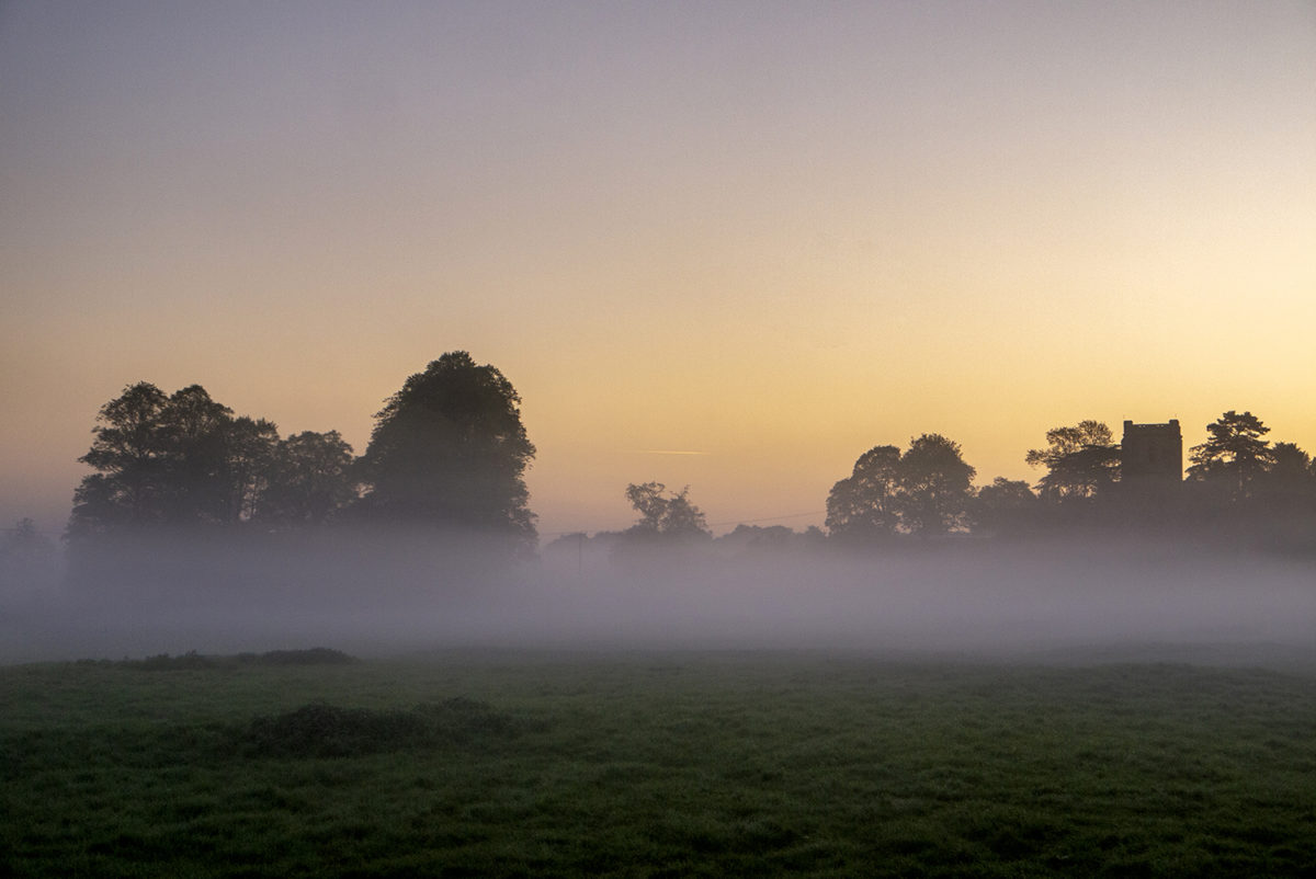 Misty Sunrise in the Ouse Valley