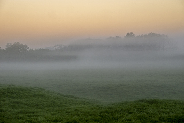 Mist in the Ouse Valley