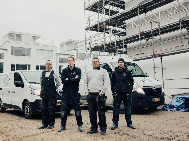 Din lokale installatør af VVS i Karlslunde, Billede af vores team
