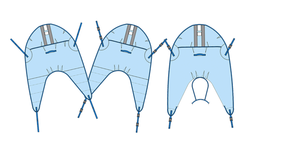 Patient Lifting Sling range