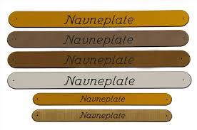 Navneskilt eksempler