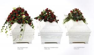 Kistedekorasjoner tre varianter