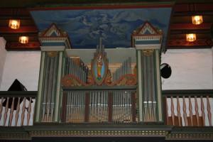 Haslum_kirke_Orgel