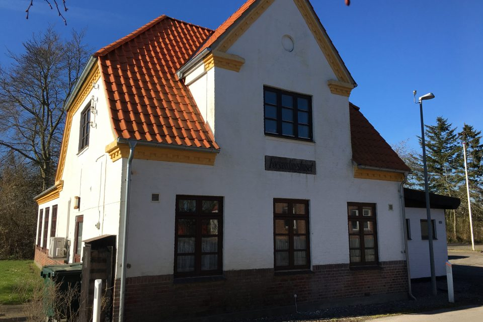 Vindeby forsamlingshus facaden