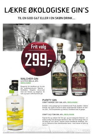Økologiske gins