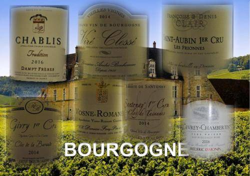 wijnen Bourgogne tris
