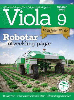 Framsida på Viola nr 9 2020