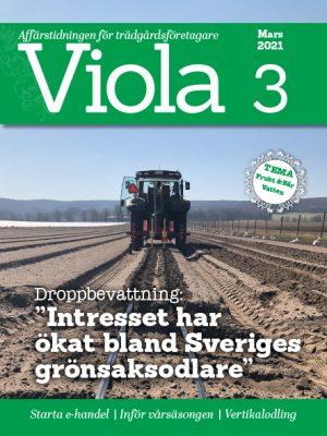 Framsidan av Viola nr 3 2021