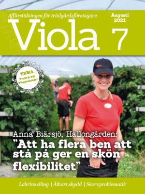 Framsida av Viola nr 7 2021