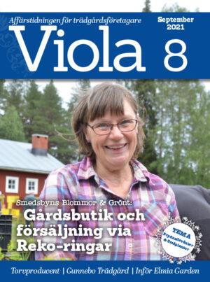 Framsidan av Viola nr 8 2021