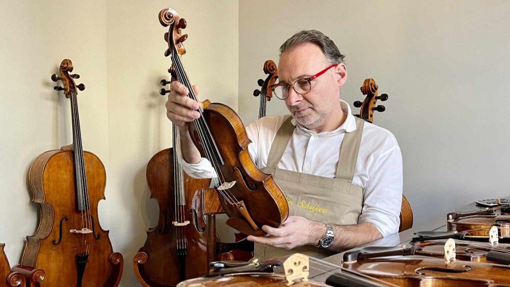 Gert Schrijvers violin taxation