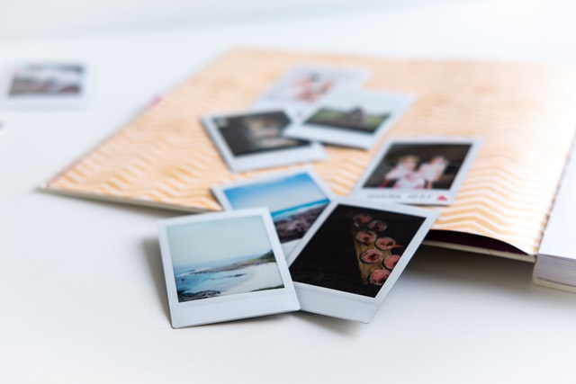 photo of a scrapbook