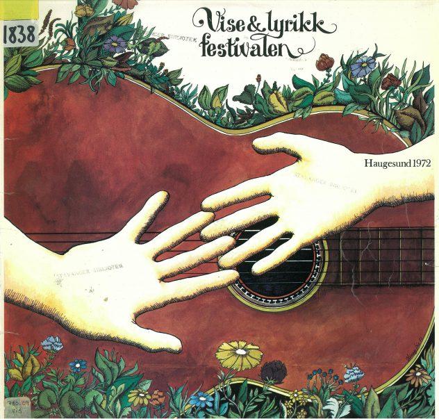 Forsiden på vinylen utgitt 1972.