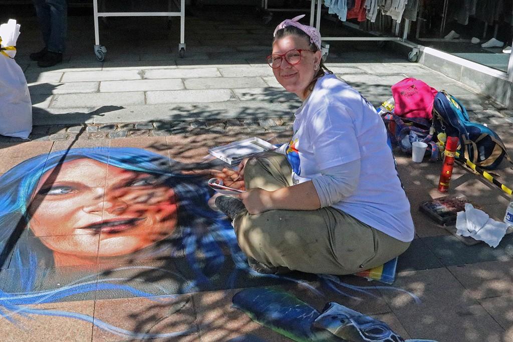 International Street Art festival Brande Ketty Grossi 2018