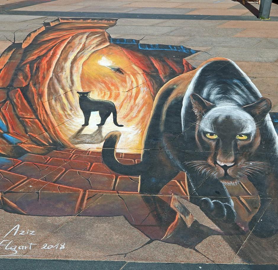 Riding a Panther – Aziz el Guaraoui