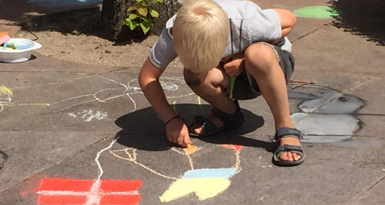 Tag børn og børnebørn med til Børne Street Art