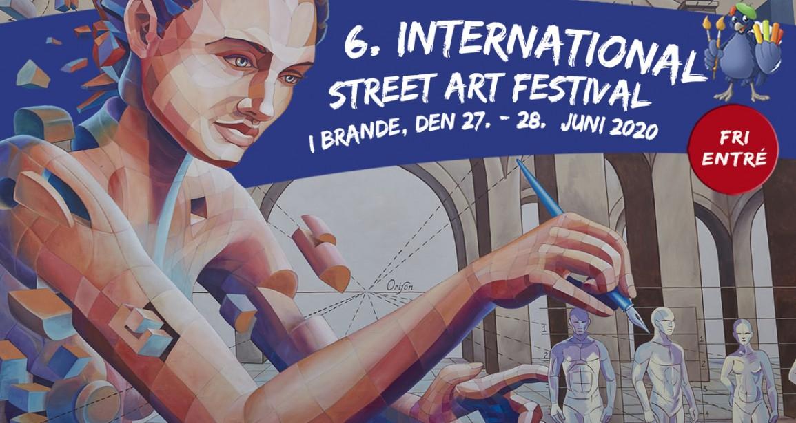 Street Art-festival 2020 AFLYST