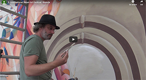 5. International Street Art Festival i Brande Video