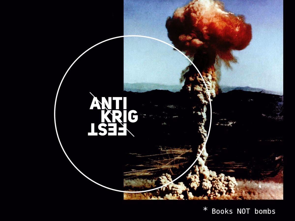 anti-krig festival - utstilling Visningsrommet - USF Verftet - Bergen - kunst