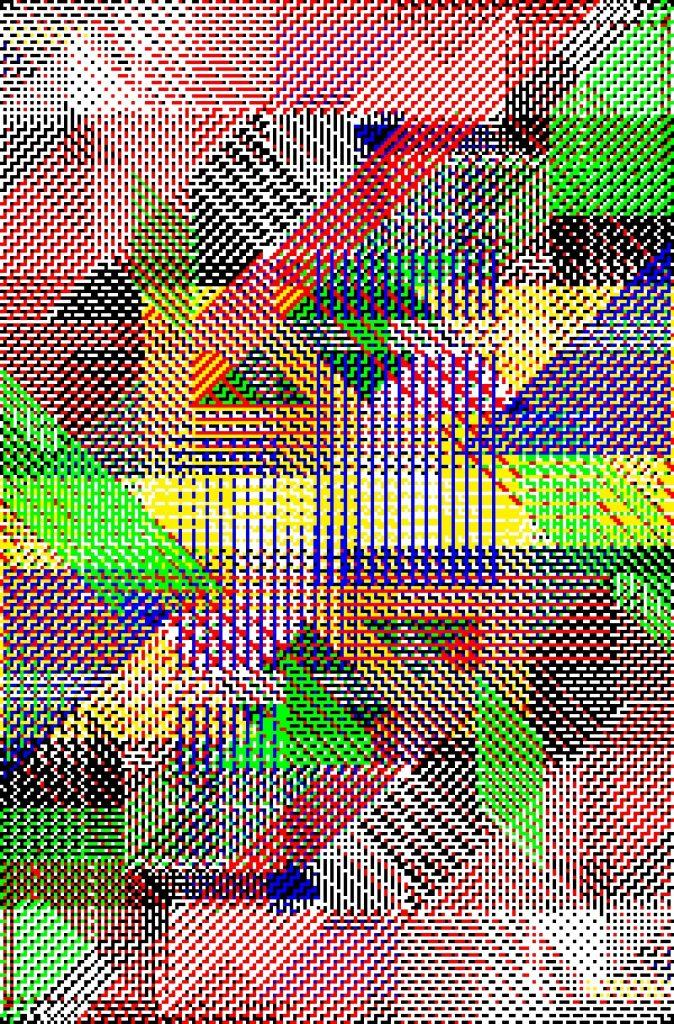 Bilde av et verk av kunstneren Søren Krag, Visningsrommet USF 2021