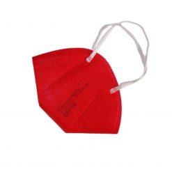 ffp2 maske rot einzel