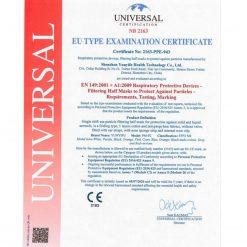 yunyifu ffp2 masken ce zertifikat