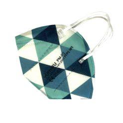 FFP2-Masken Muster Dreiecke
