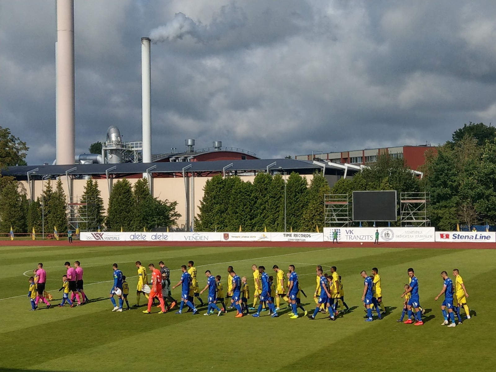 FK Ventspils - KF Teuta - 2019 - 2