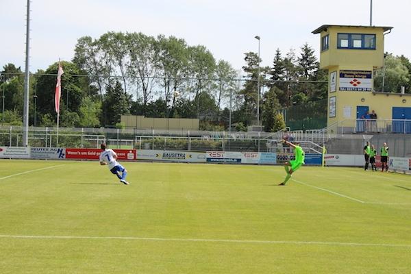 30. Spieltag 2018/ 2019 - Luckenwalde gegen Hohenstein Ernstthal - 1