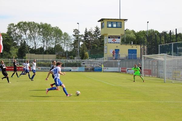 30. Spieltag 2018/ 2019 - Luckenwalde gegen Hohenstein Ernstthal - 7