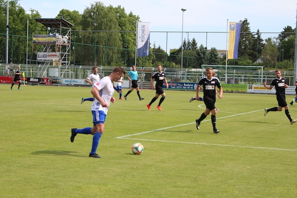 30. Spieltag 2018/ 2019 - Luckenwalde gegen Hohenstein Ernstthal - 19